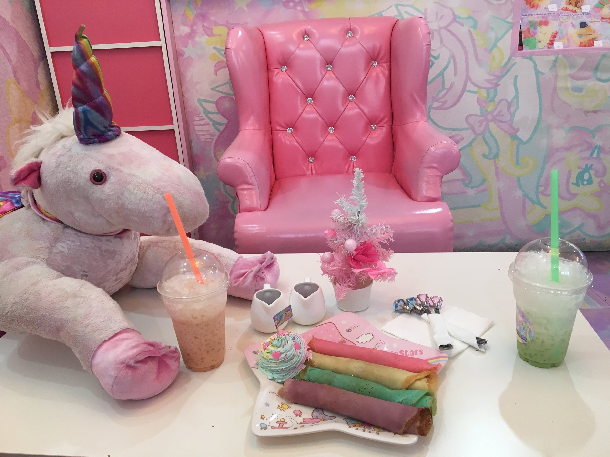 My magical feast at the Unicorn Cafe