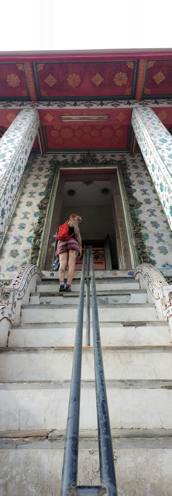 Endless staircases at Wat Arun