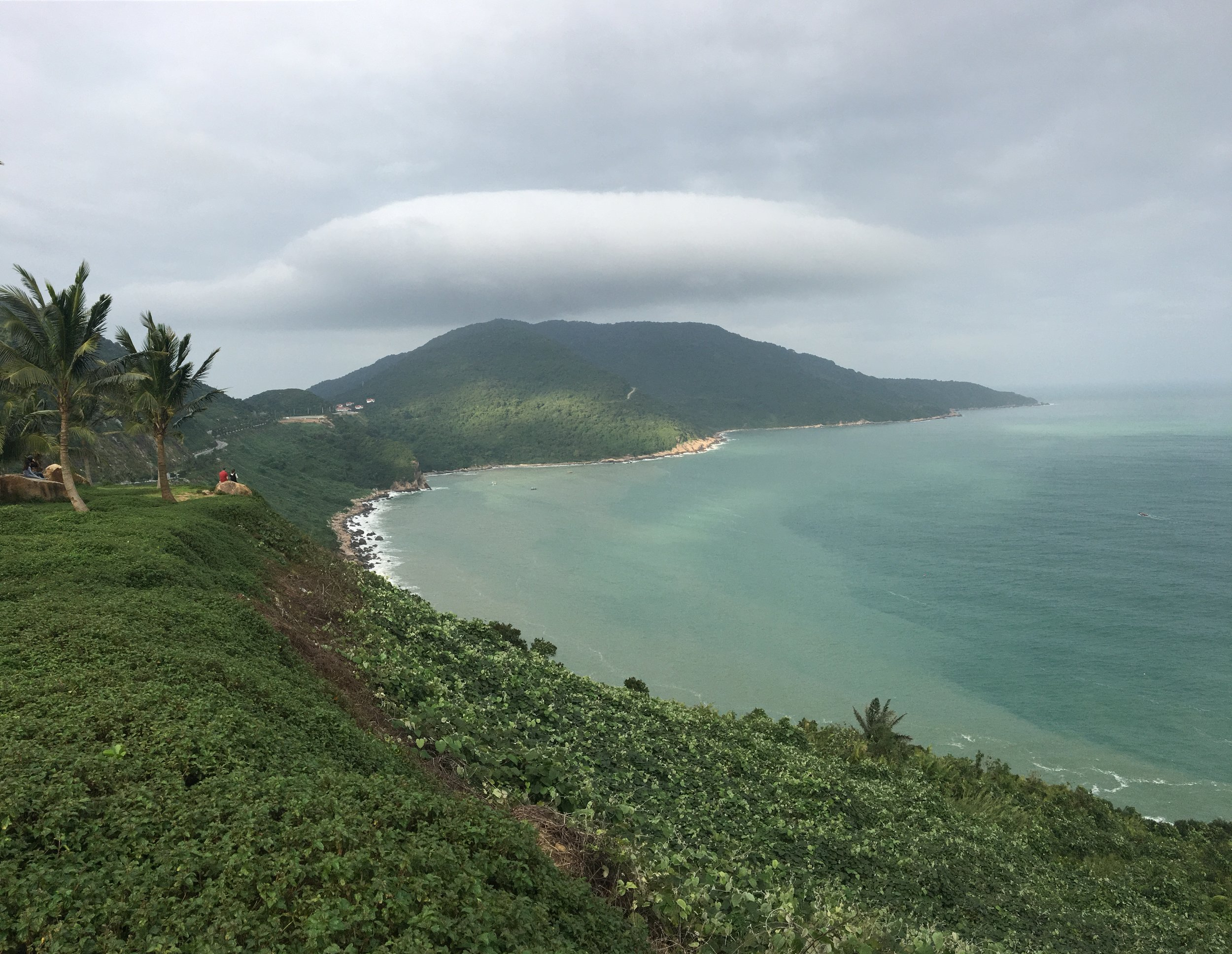 The beautiful coast of Da Nang, Vietnam