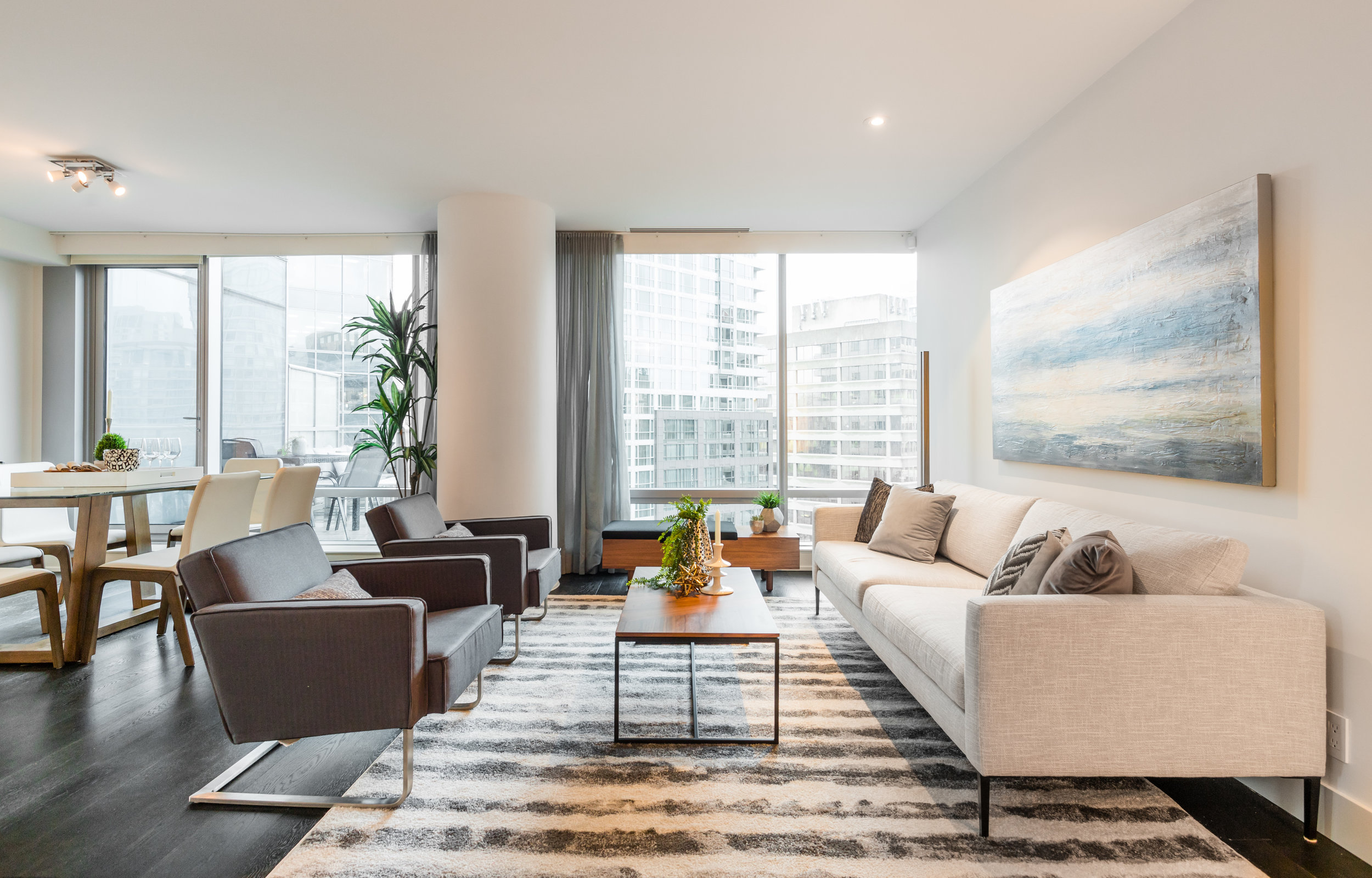 Living Shangri-la - #1701-1111 Alberni Street(SOLD)$1,899,000 | 2 Bed | 2 Bath
