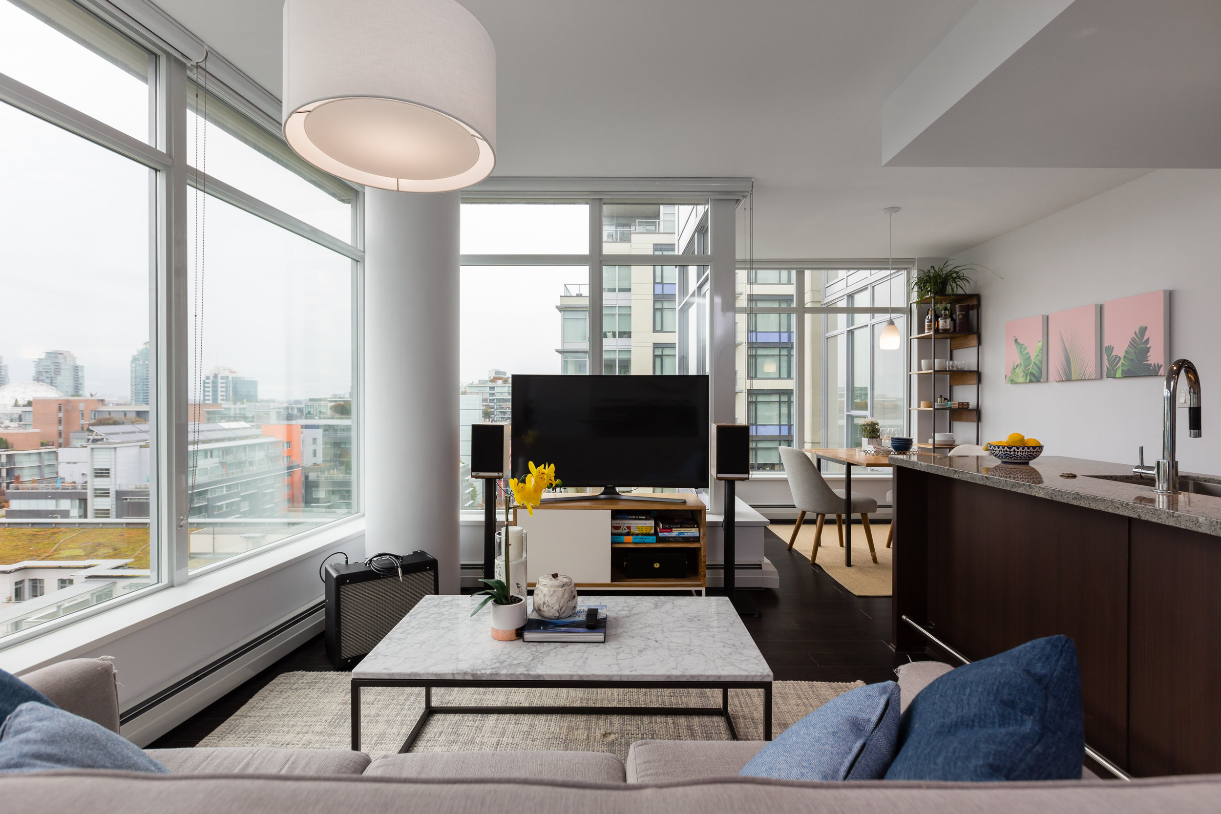 Wall Centre False Creek West - #1109-1708 Columbia Street(SOLD)$829,000 | 1 Bed +Den | 1 Bath