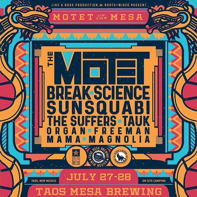 New Mexico. See you soon. #organfreeman #taosmesabrewing #motetonthemesa