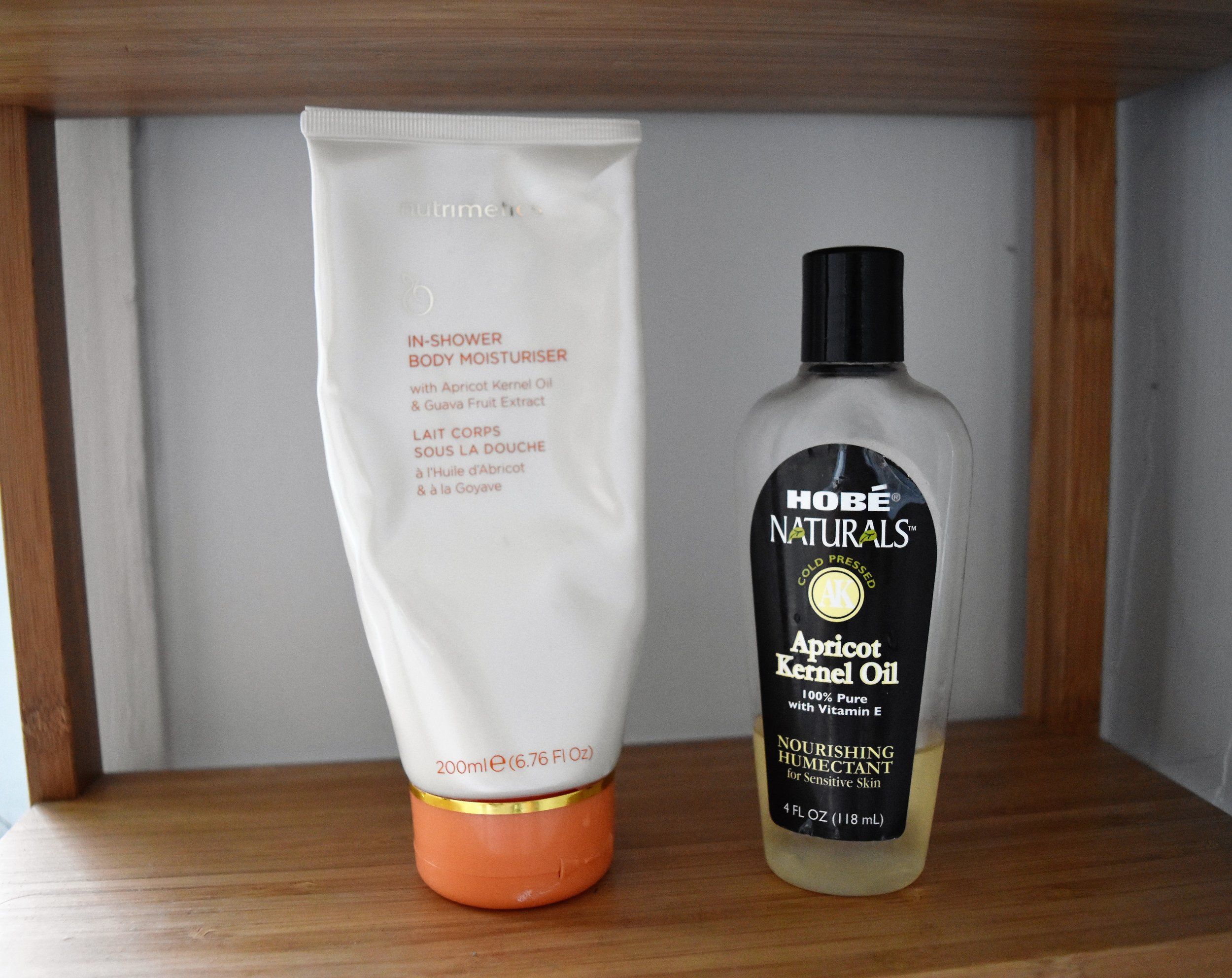 $26 for apricot kernel oil-enriched in-shower moisturiser vs $5.22 for the actual oil at iHerb
