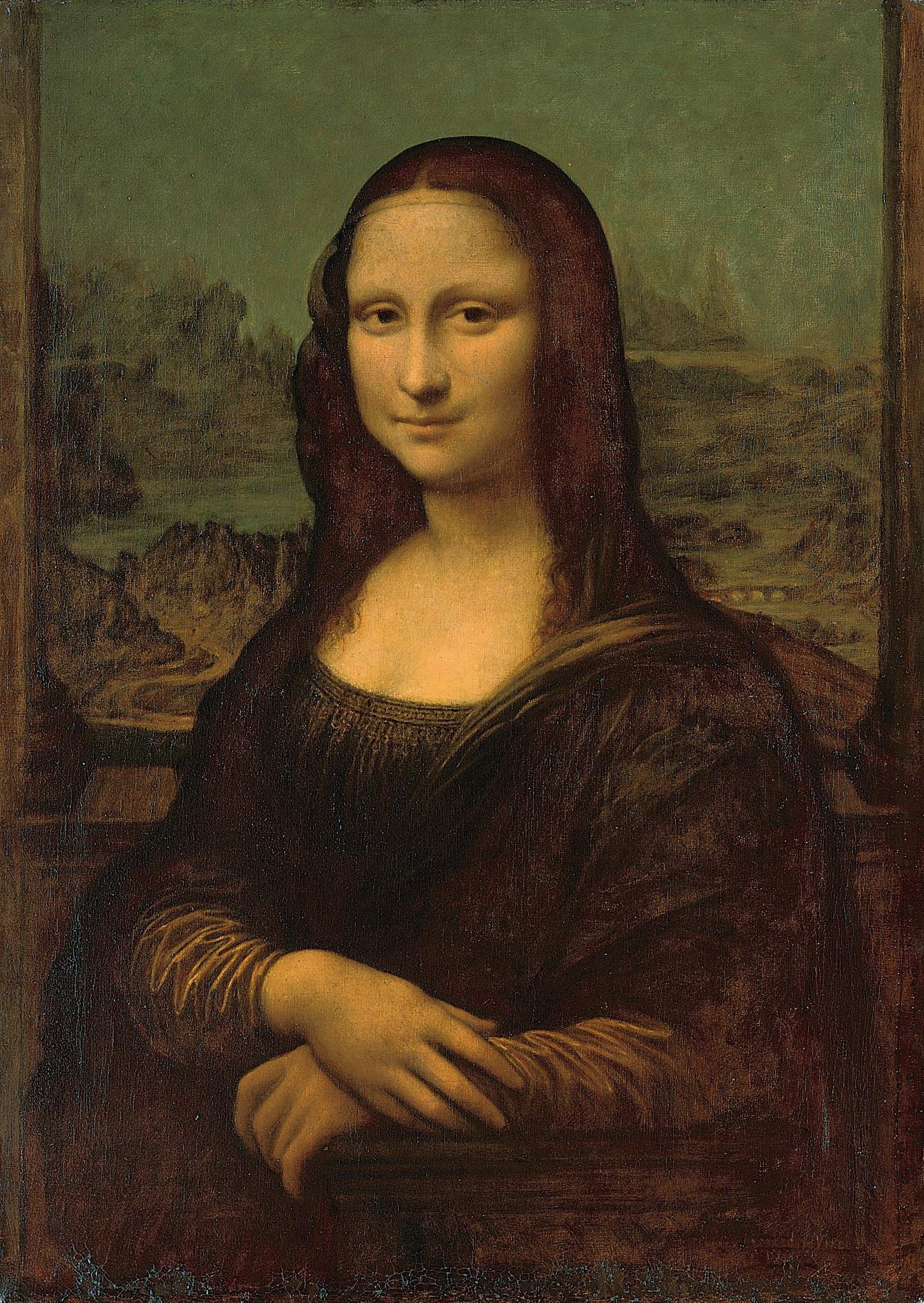 The  Mona Lisa, or La Gioconda  , Attributed to Louis Béroud (Lyon 1852-1930), After Leonardo da Vinci,