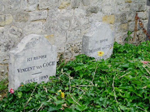 Tombstones of Vincent and Theo Van Gogh