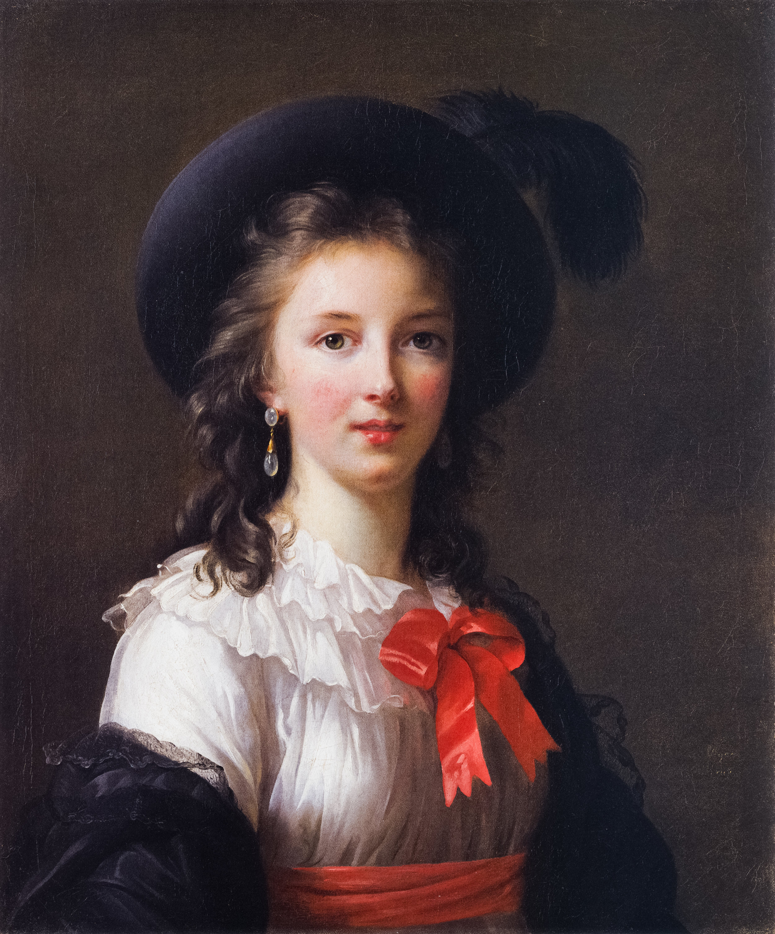 Elisabeth Vigée Lebrun, Self-Portrait, circa 1781-1782, oil on canvas, Kimbell Art Museum