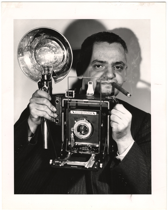 Copy of Weegee (Arthur Fellig), Self Portrait