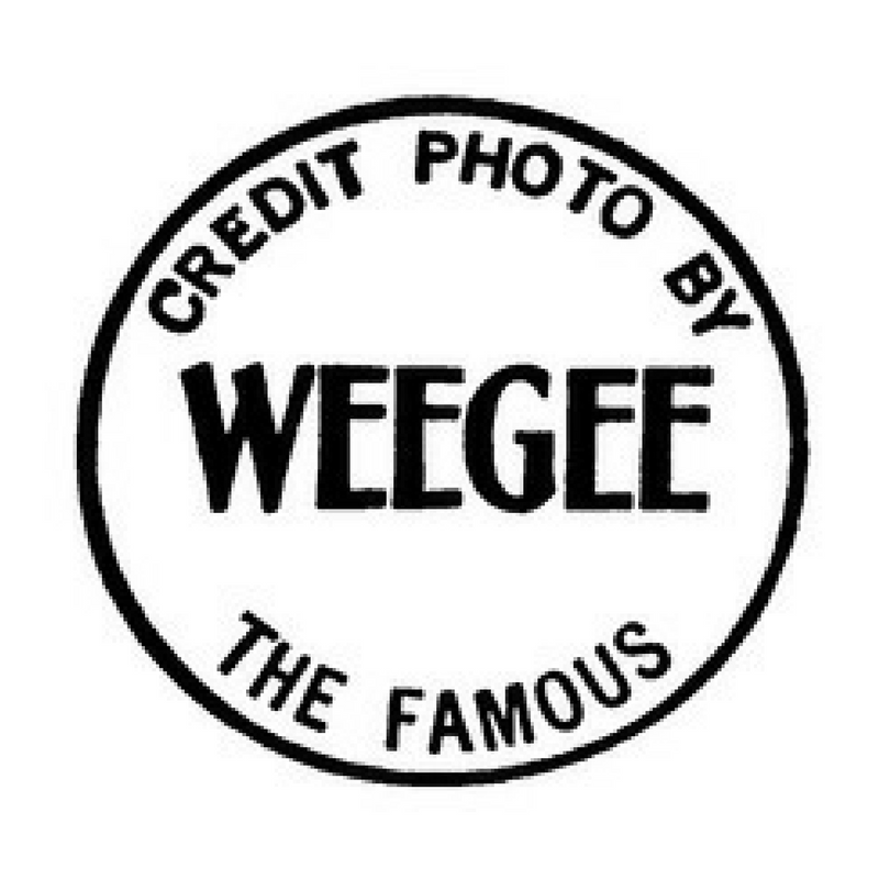 Copy of Weegee's Photo Credit