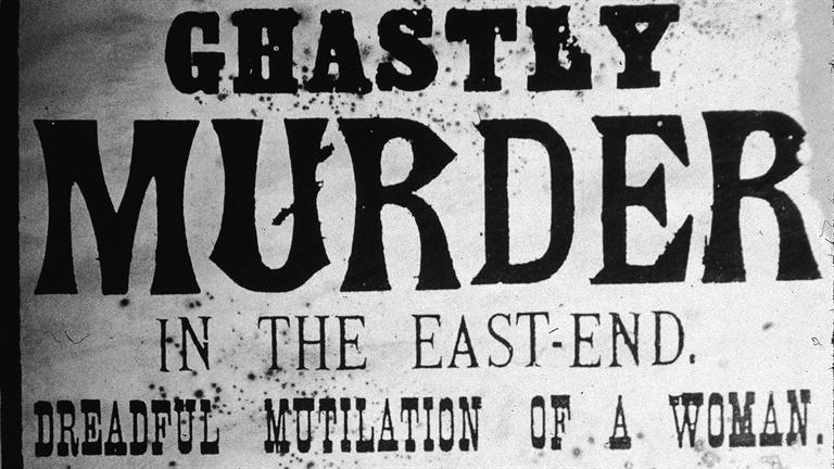 Newspaper broadsheet, printed after the murder of Annie Chapman
