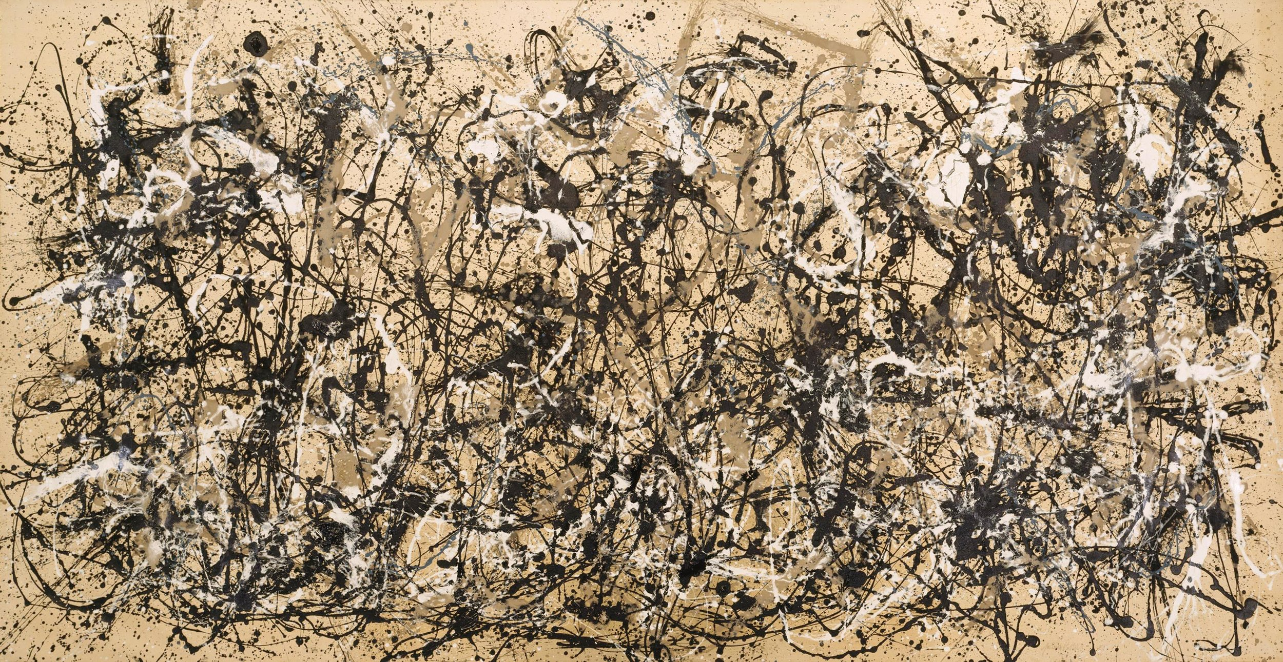 Jackson Pollock, Autumn Rhythm (#30), 1950, enamel on canvas
