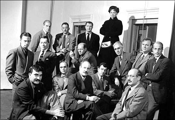 """The Abstract Expressionists profiled for Life Magazine's """"The Irascibles"""" story, 1951"""
