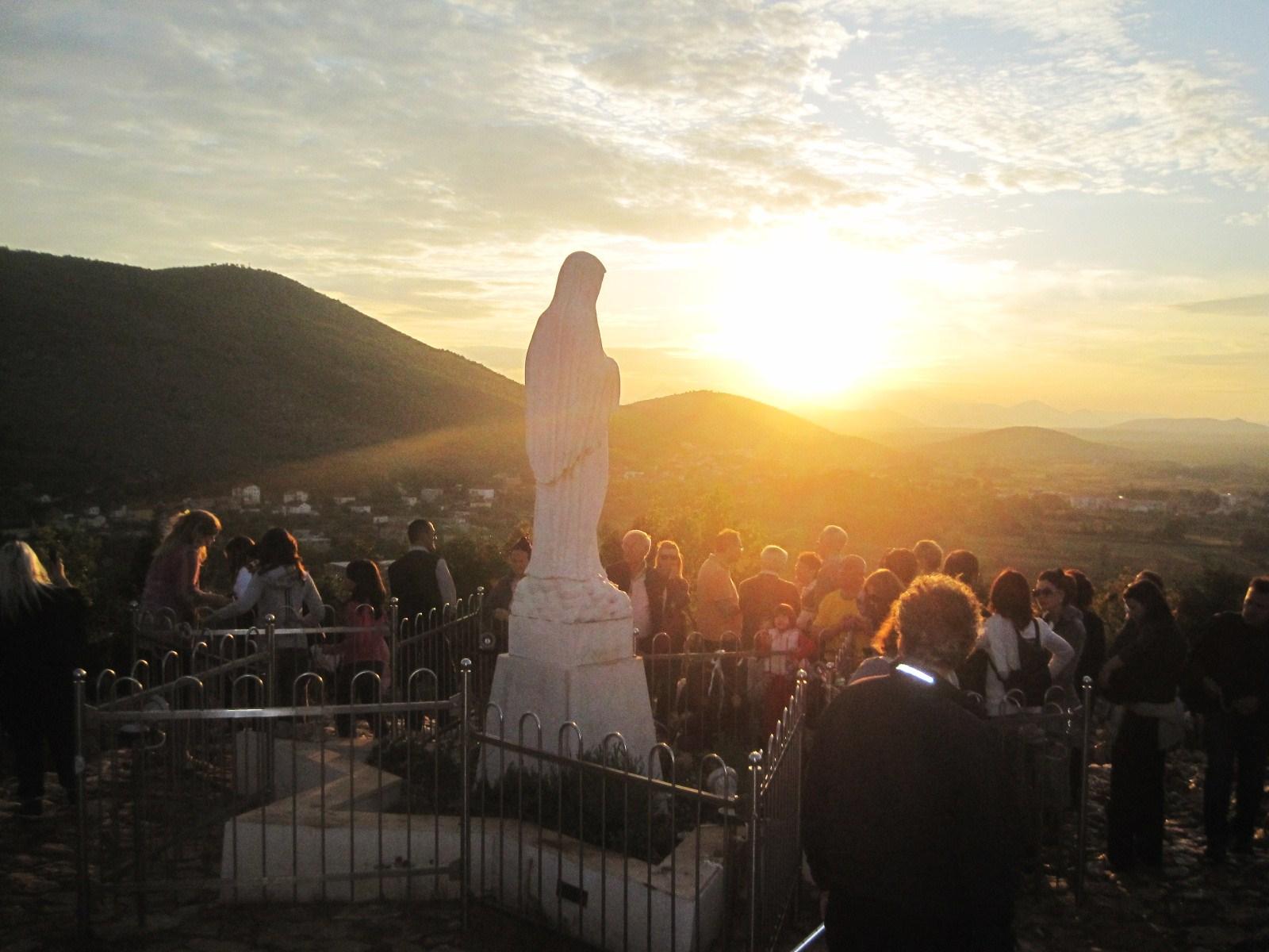 View over Medugorje, Hercegovina