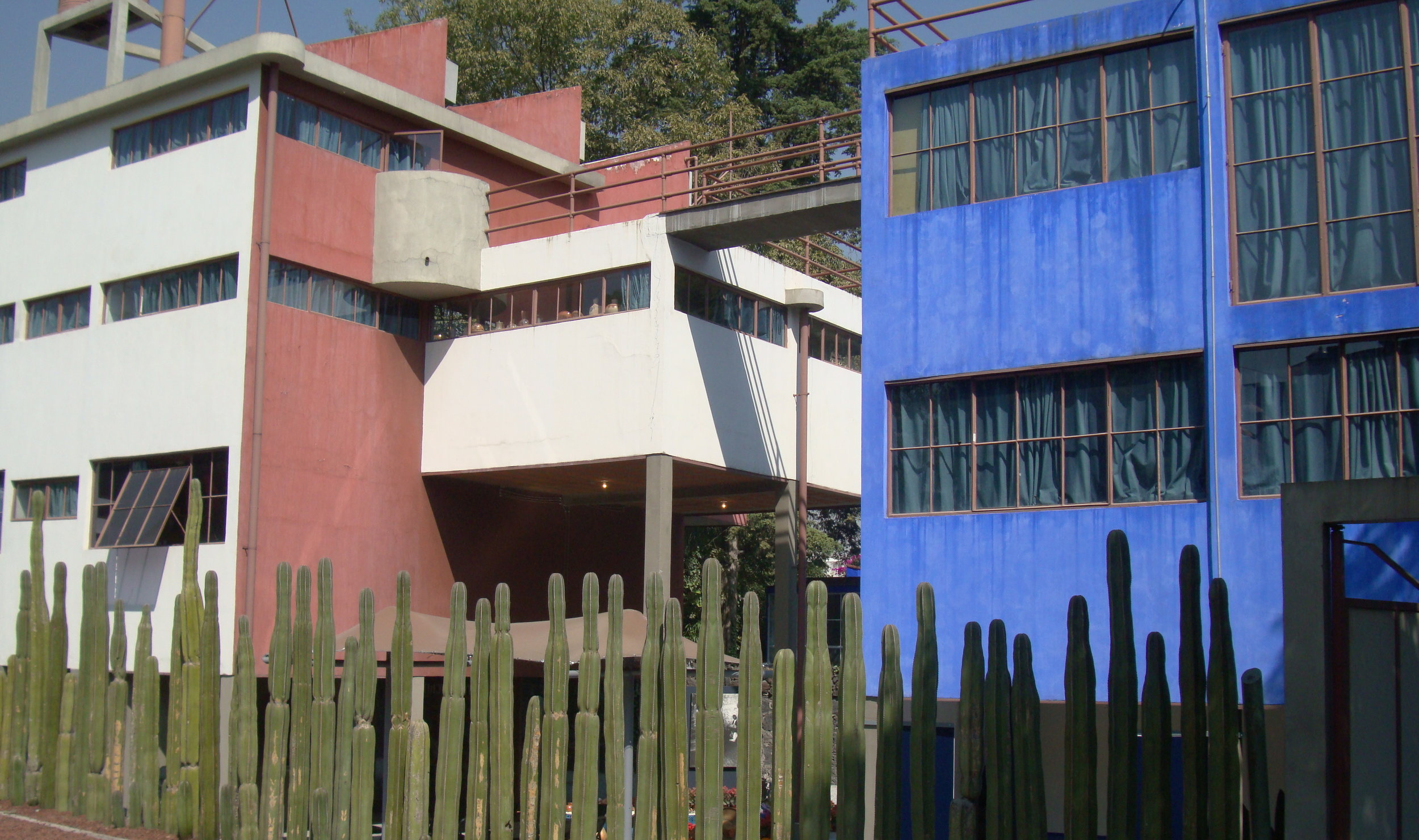 "The ""Twin Houses,"" Mexico City"
