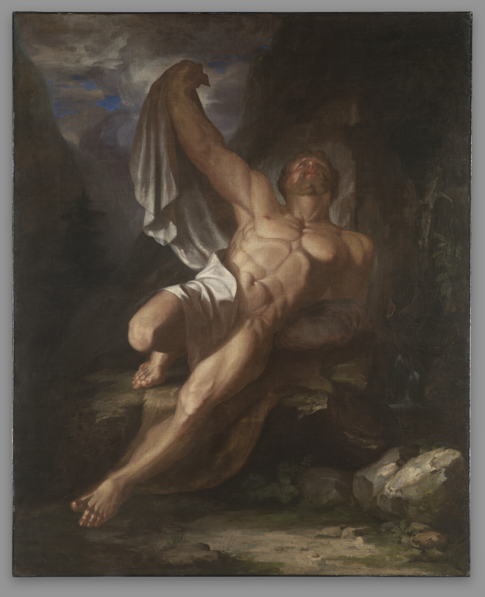 Dying Hercules by Samuel Morse, 1812