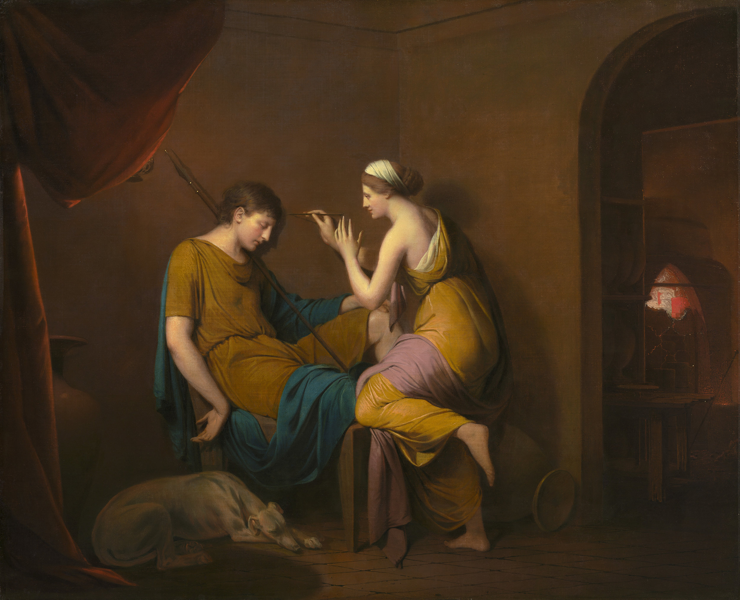 Joseph Wright of Derby, The Corinthian Maid, 1782–1784