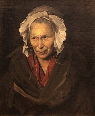 Théodore Géricault, Portait of a Woman Suffering from Obsessive Envy (The Hyena), 1822, oil on canvas, 72 x 58 cm (Musée des Beaux-Arts, Lyons)