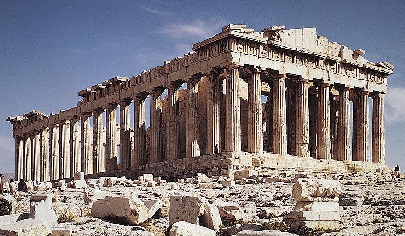 The Parthenon Today, Athens, Greece