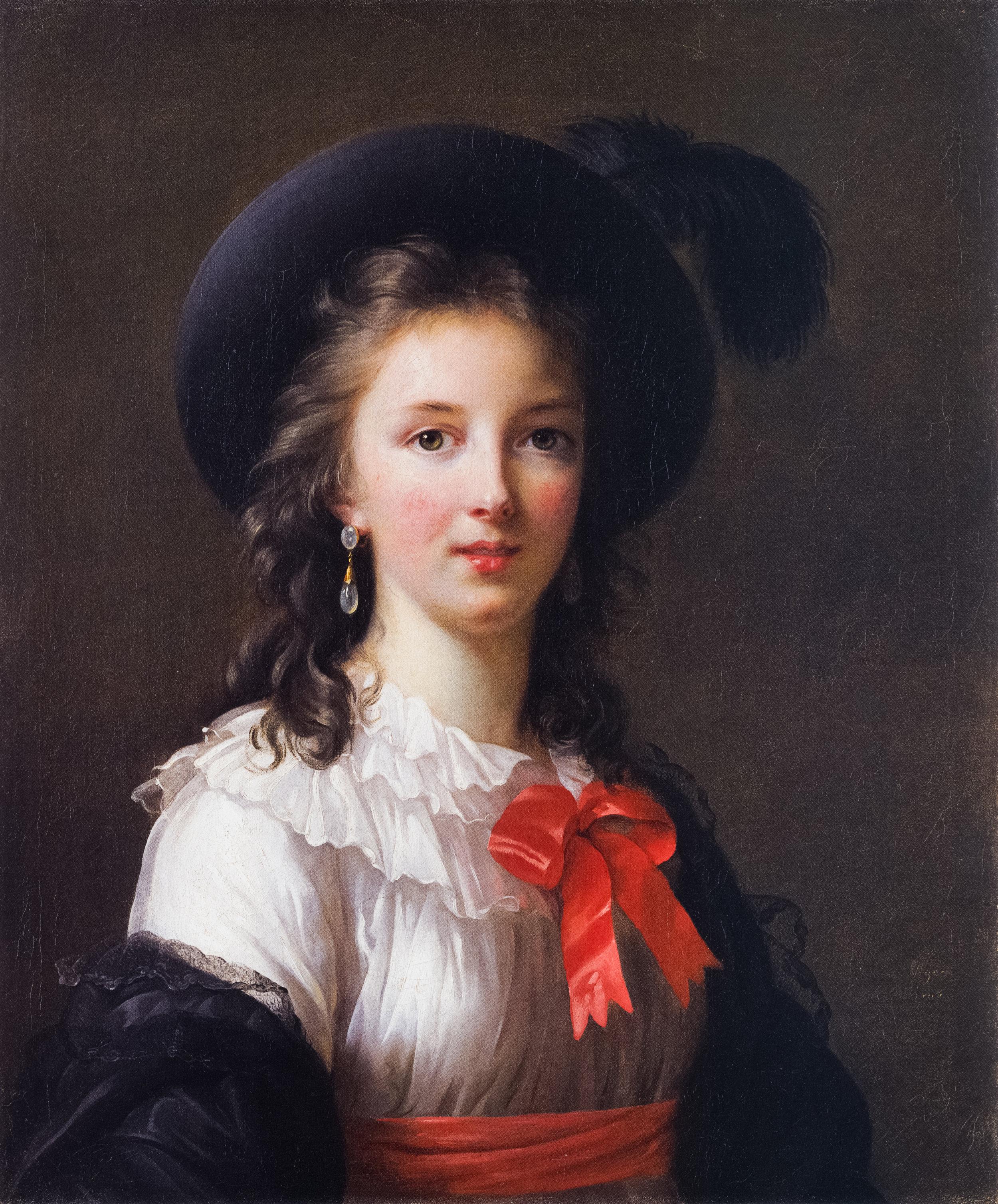 Elisabeth Vigeé Le Brun, Self-Portrait, circa 1781-1782, oil on canvas, Kimbell Art Museum
