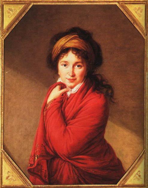 Elisabeth Vigée Lebrun, Portrait of Countess Golovine, 1797-1800, oil on canvas, University of Birmingham