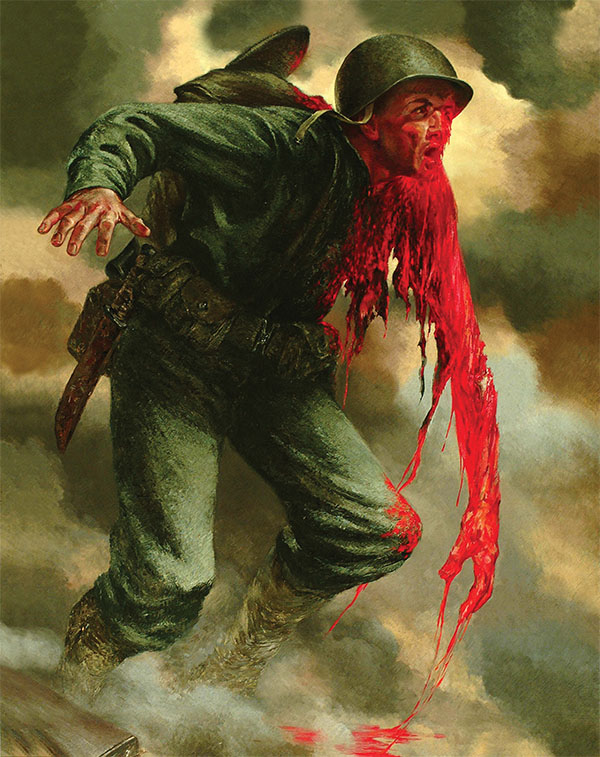 Tom Lea, The Price, 1944. Oil on canvas