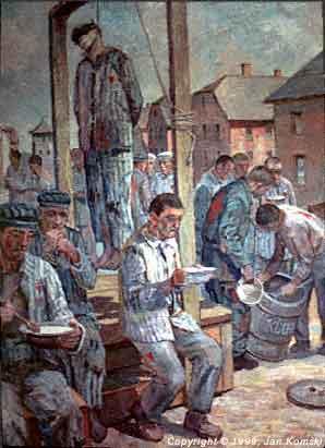 Jan Komski, Hanging and Eating