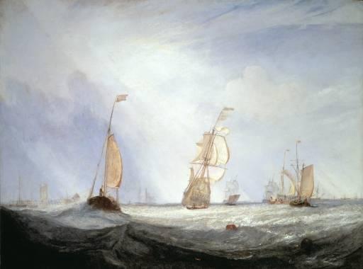 JMW Turner, Helvoetsluys, 1832