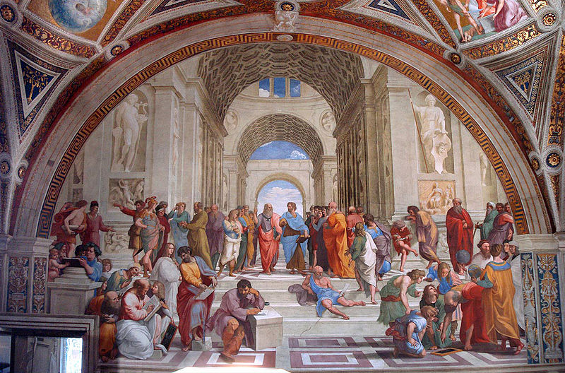 Raphael, The School of Athens, 1509–1511