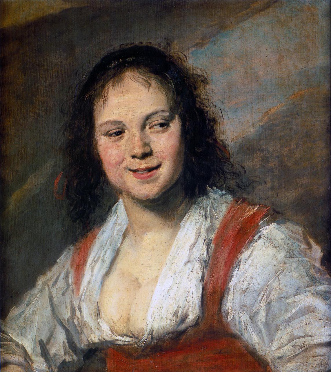 Frans Hals, Gypsy Girl, 1628