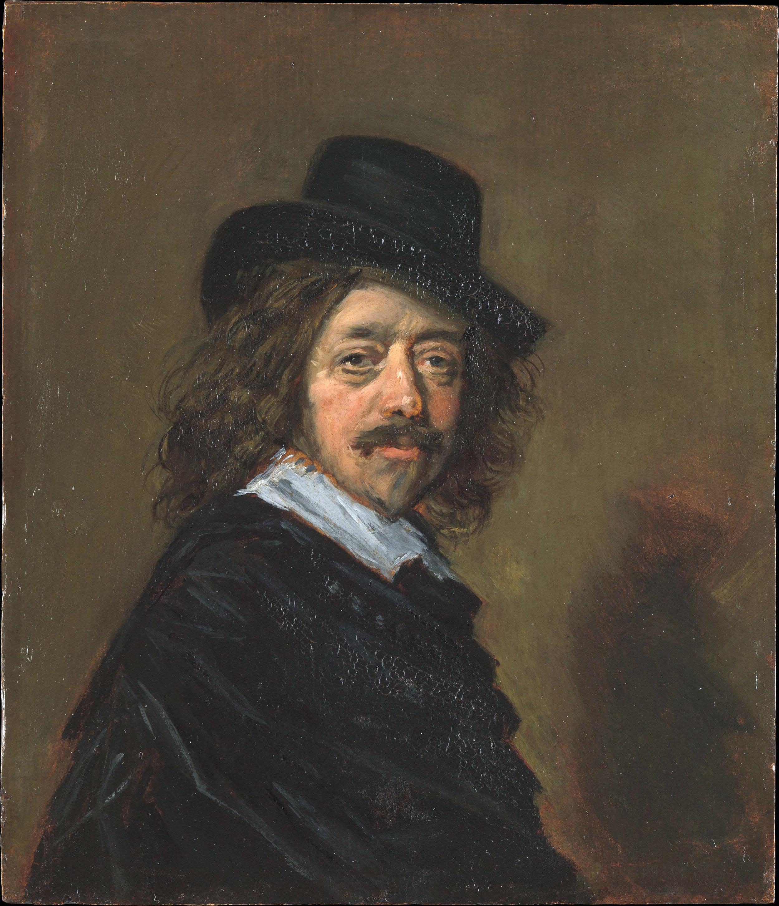 Follower of Frans Hals, Copy of a Self-Portrait by Frans Hals, c. 1650s