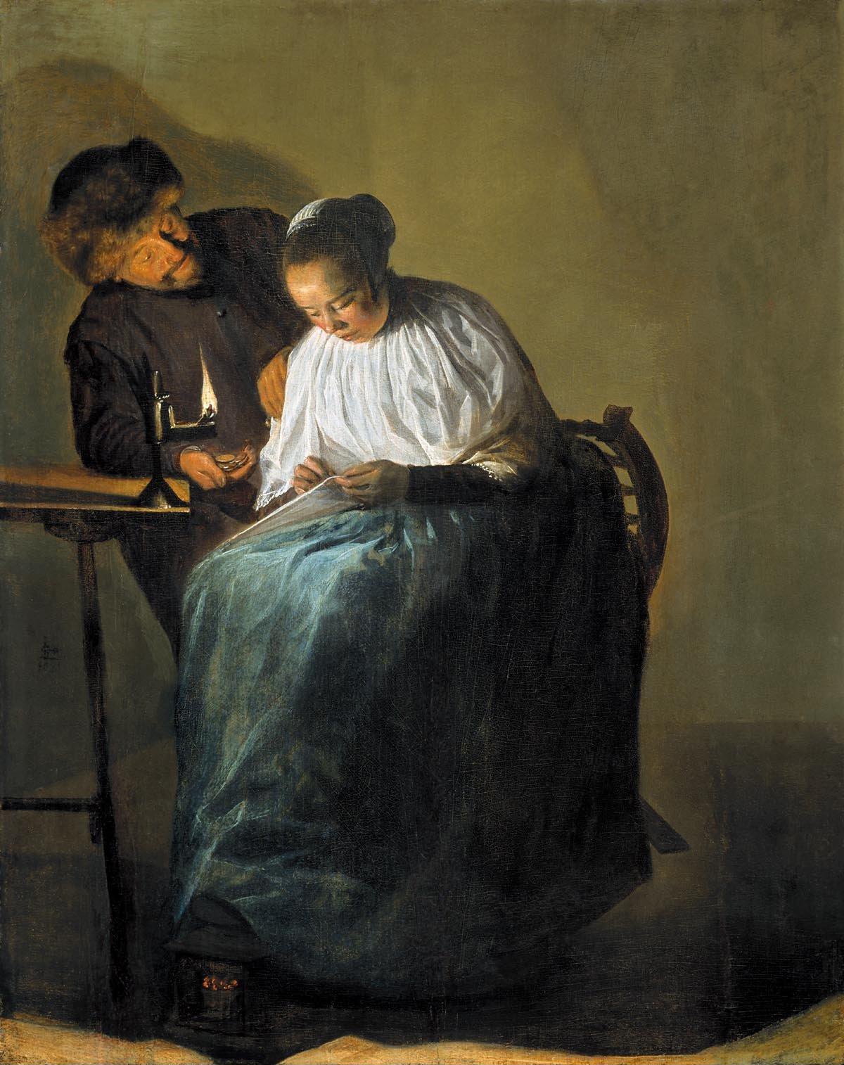 Judith Leyster, The Proposition. 1631
