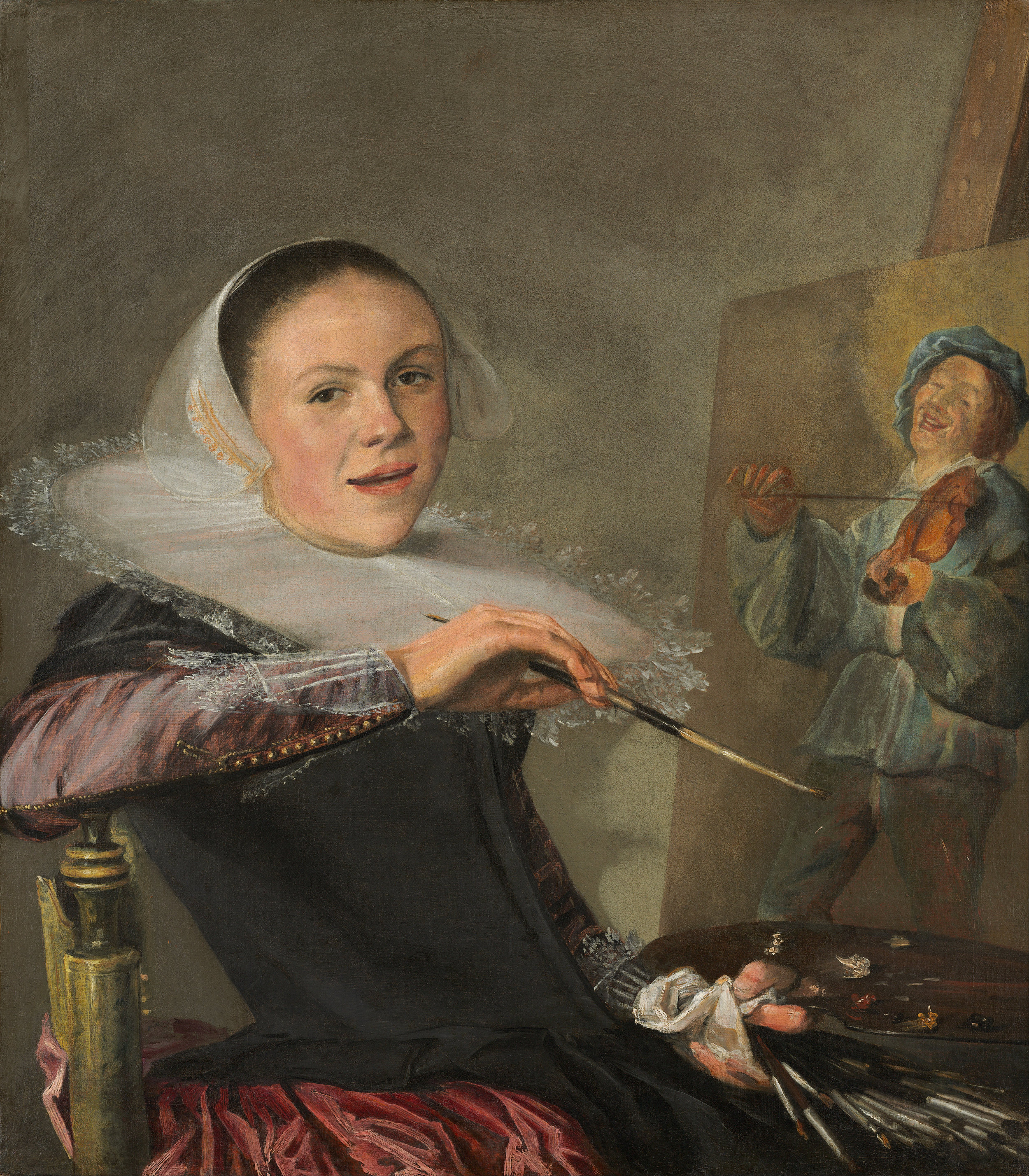 Judith Leyster, Self-Portrait, 1633
