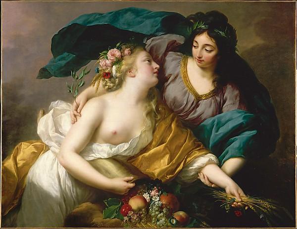 Élisabeth Louise Vigée Le Brun, Peace Bringing Back Abundance, 1780