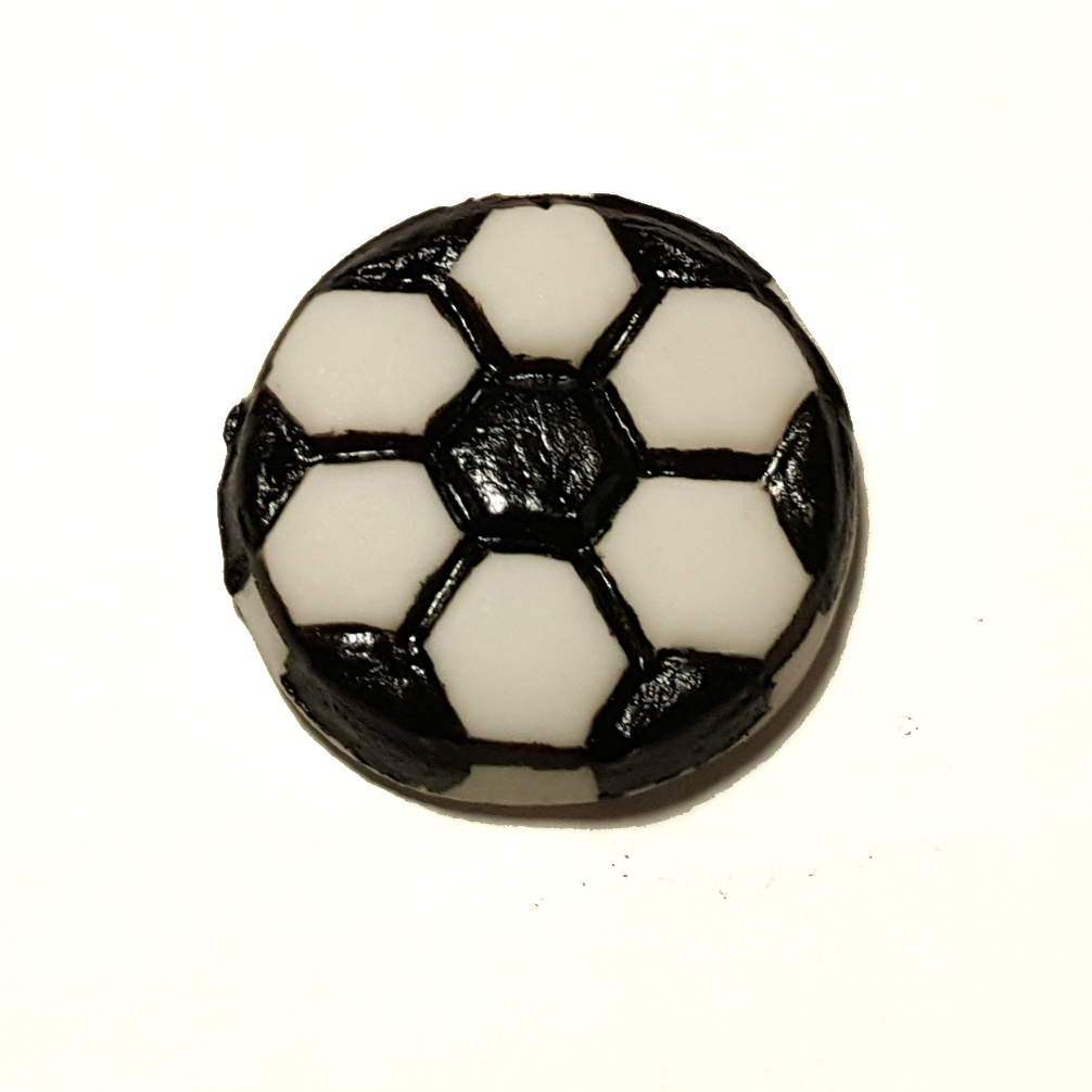 Soccer Cupcake Topper