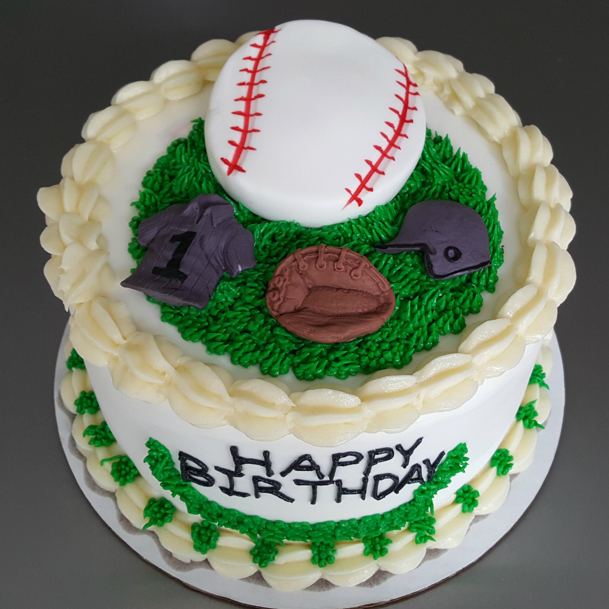 Baseball Buttercream