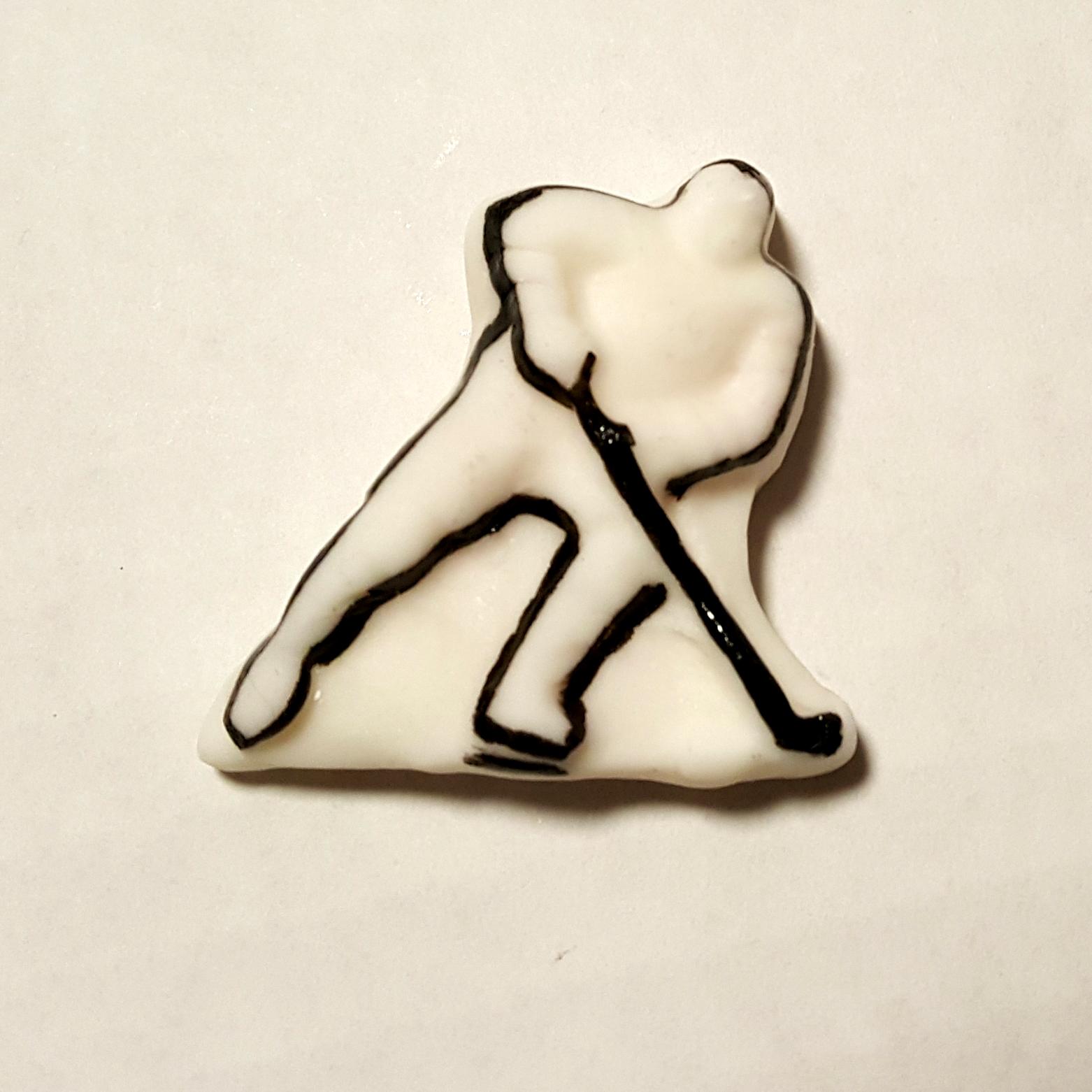 Player Cupcake Topper