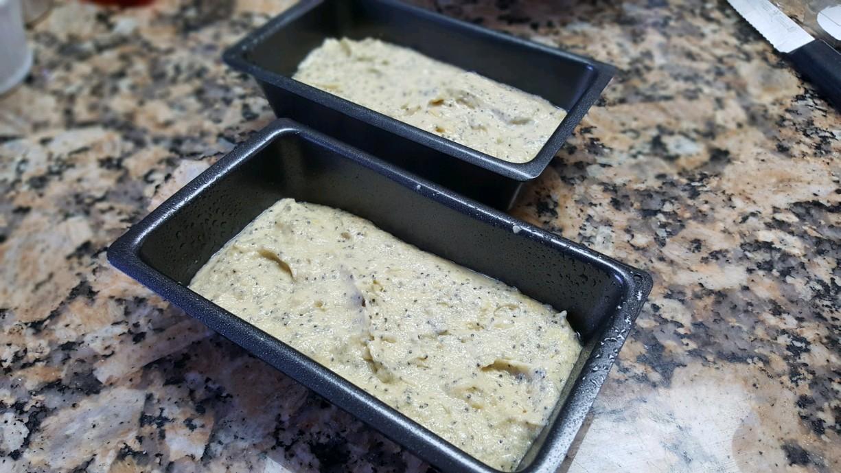 x4 mini loaf pans/x1 standard loaf pan/ x12 muffins