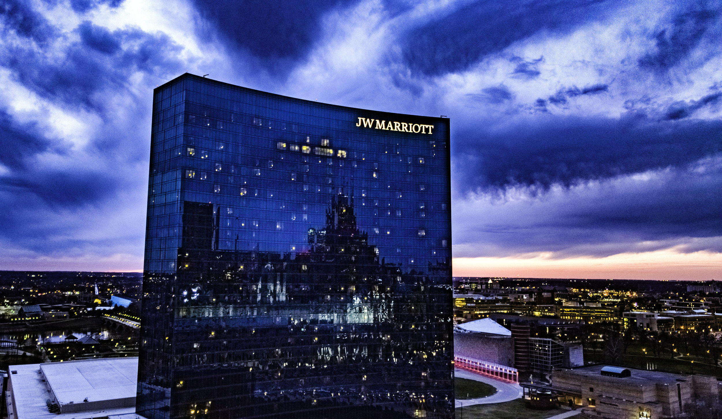 JW Marriott Indianapolis | 317 Aerials