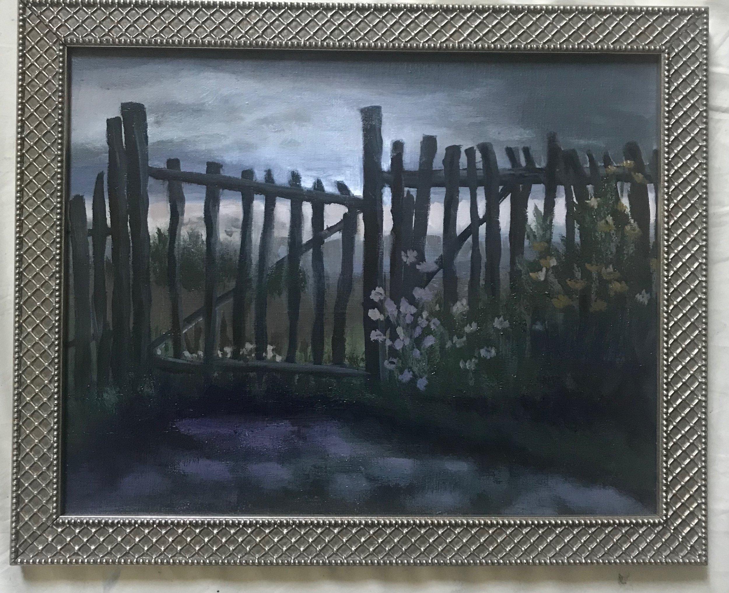 Enter the Gate 14x11 S (framed)