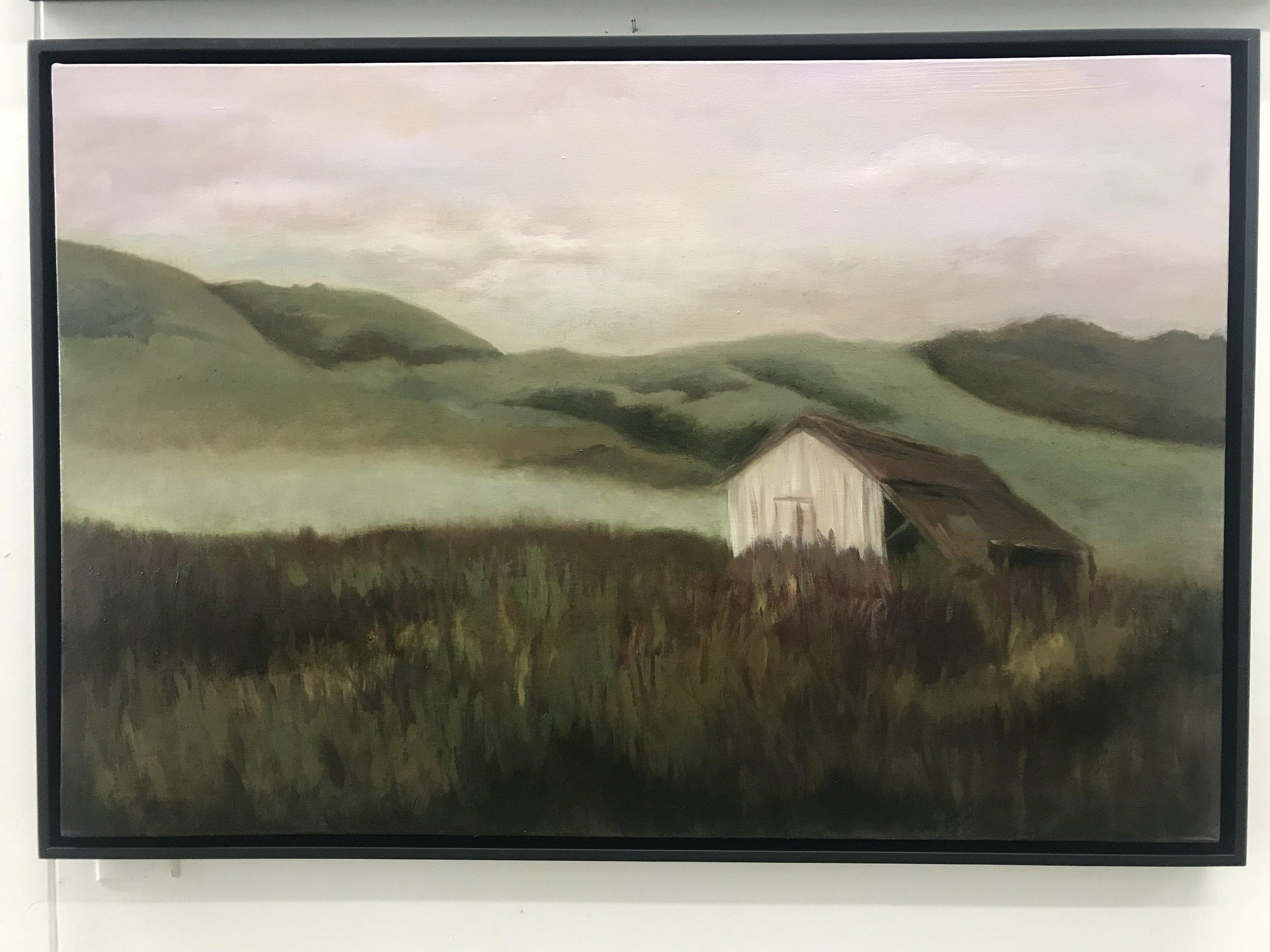 Mist on the Moor 24x36 S (framed)