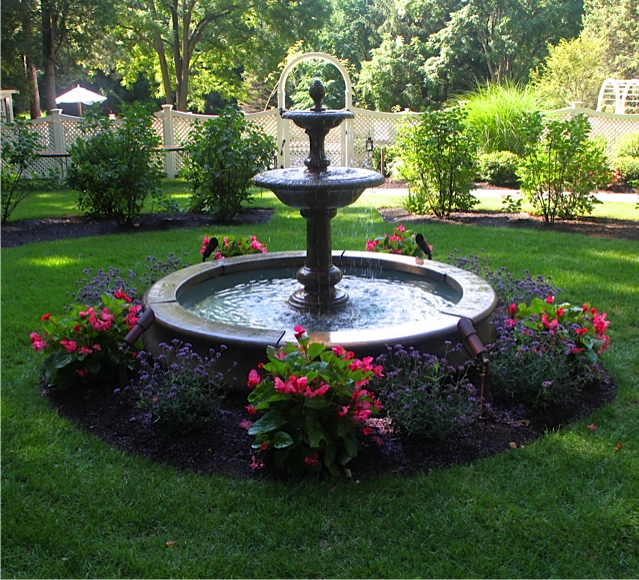 Fountain _ Summer Plantings.JPG