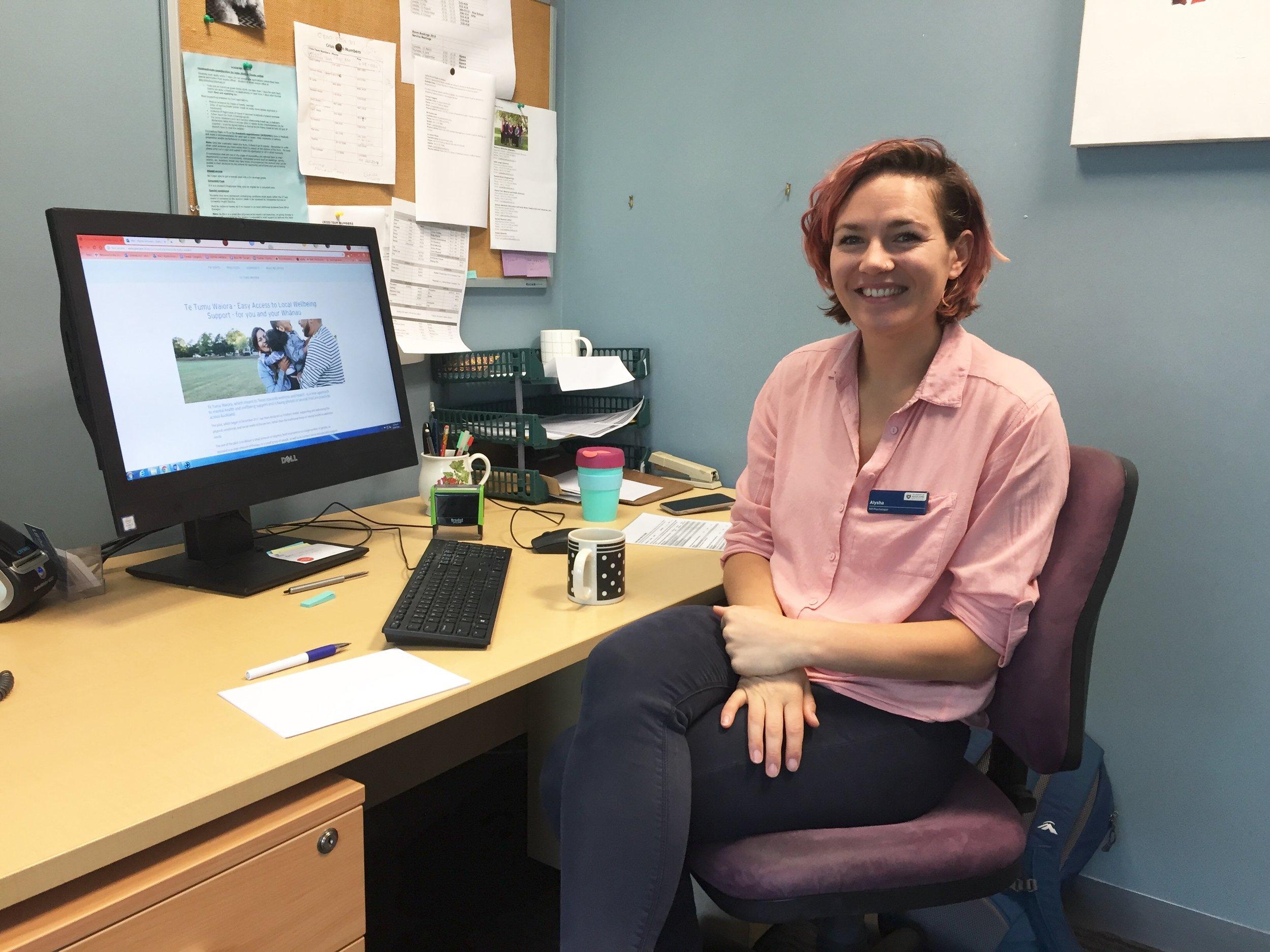 Alysha Simonsen, Health Psychologist, HIP