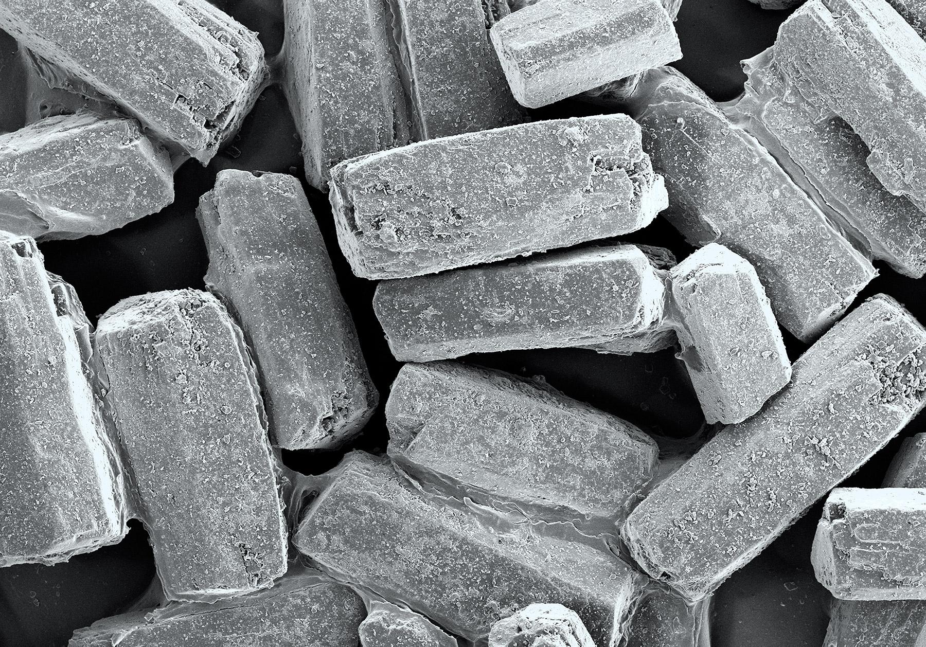 terra cibus no.18: sugar in the raw  15x magnification