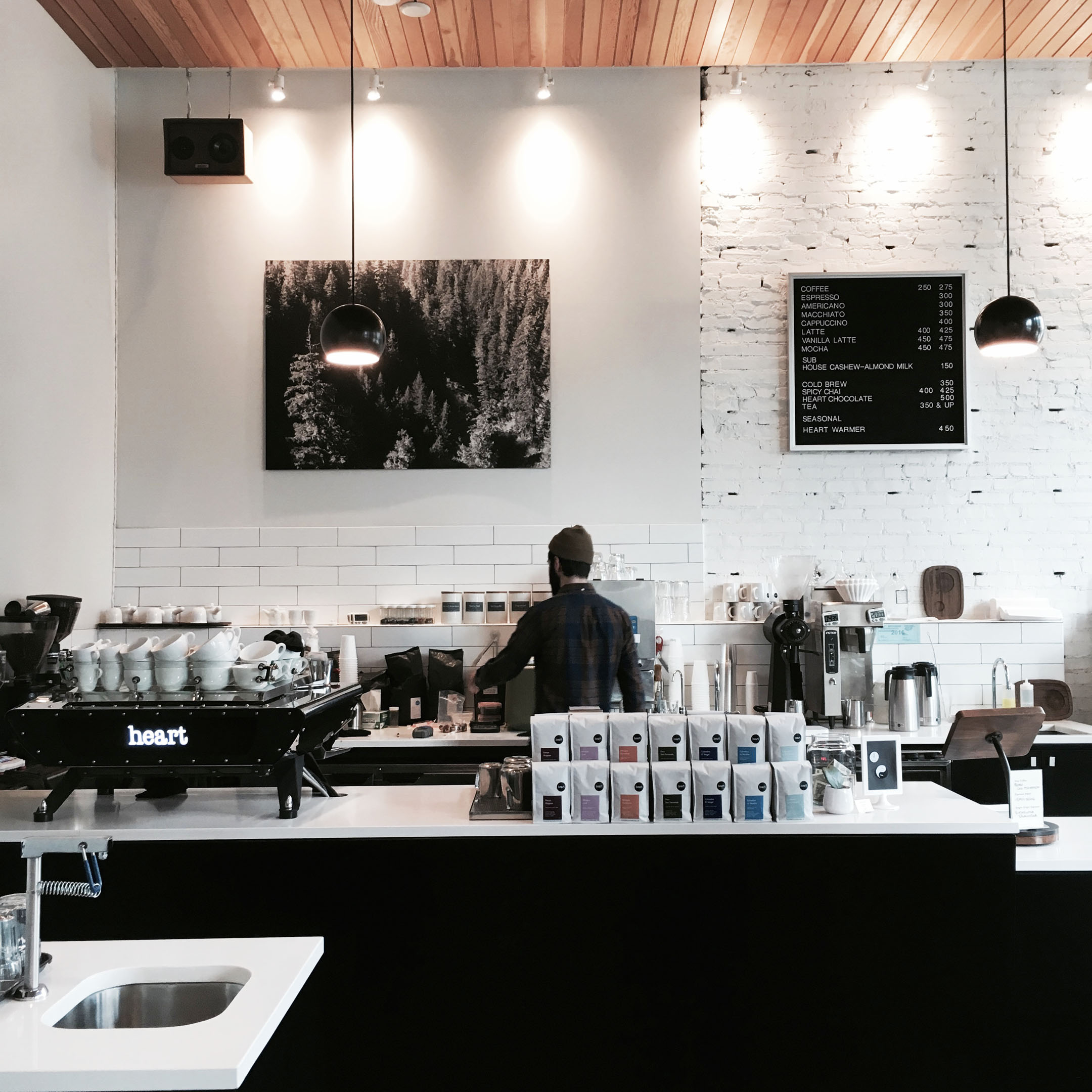 Heart Coffee Roasters - Crystalin Marie has a great article on  Instagram-worthy spots  on her blog.