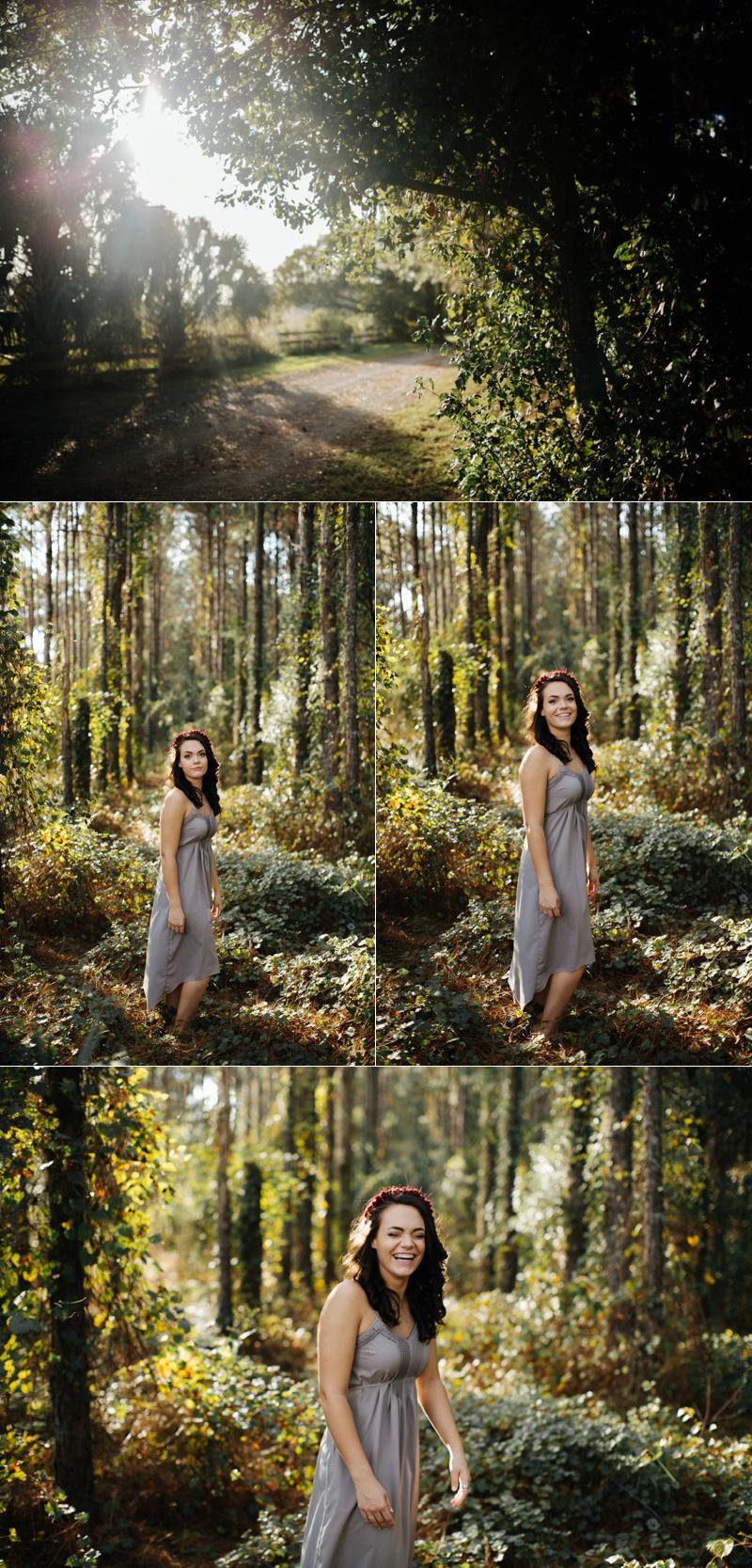 tampa woodsy senior portraits-1
