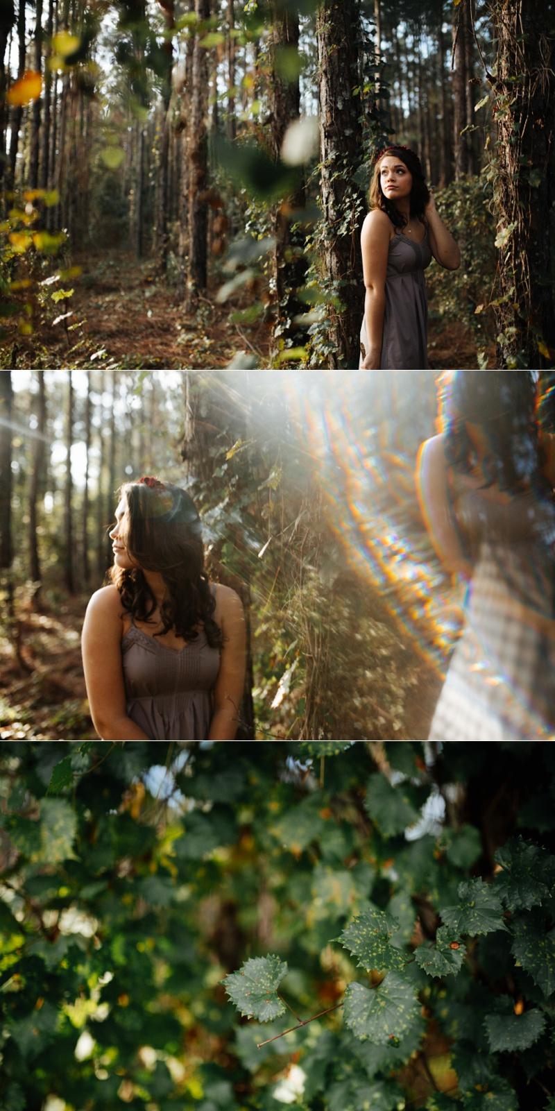 tampa woodsy senior portraits-5
