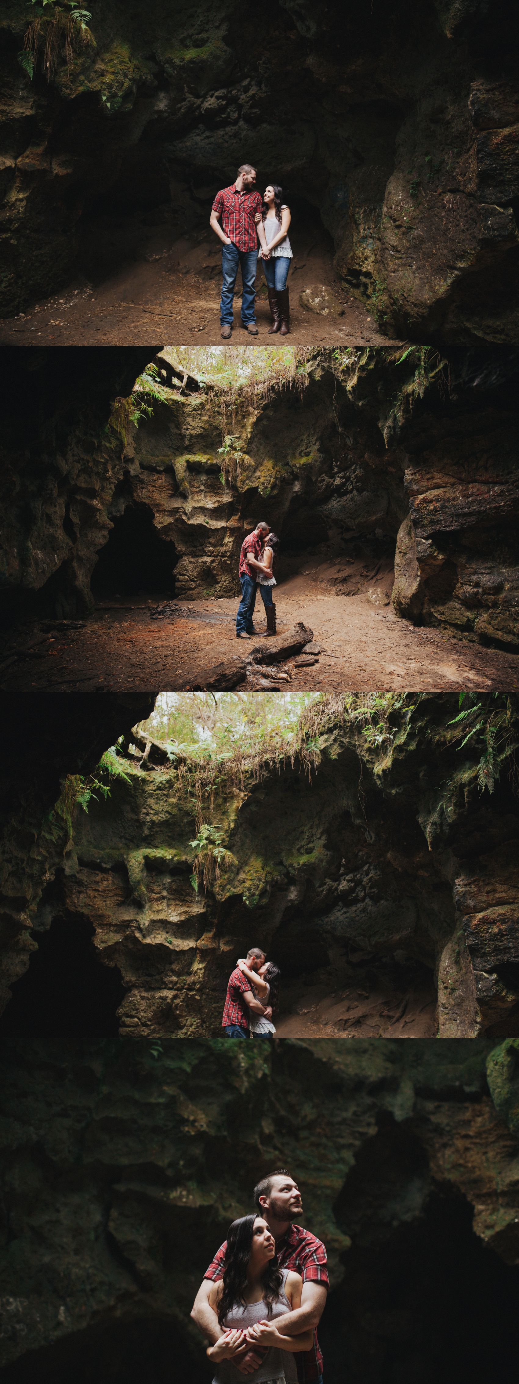 tampa outdoor hiking cave engagement session-2