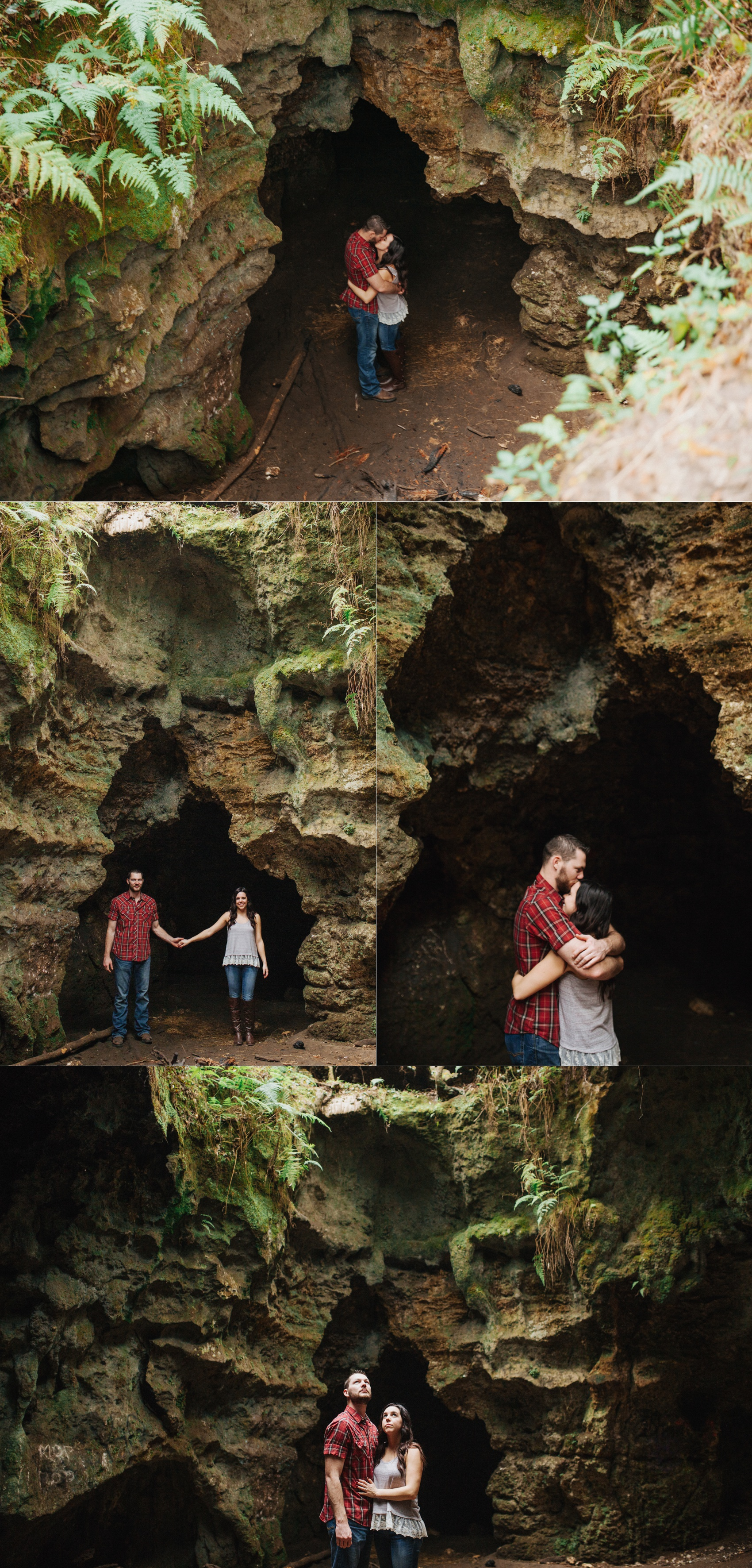 tampa outdoor hiking cave engagement session-4