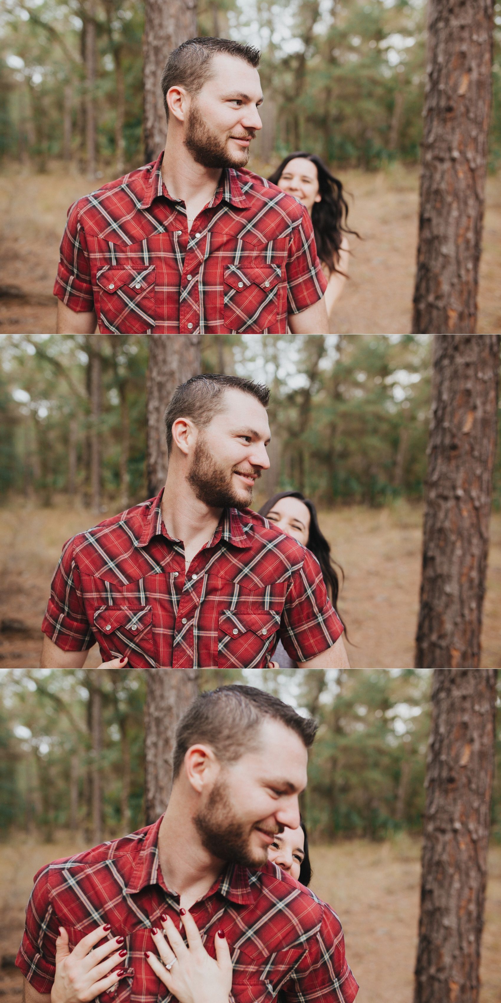 tampa outdoor hiking cave engagement session-8