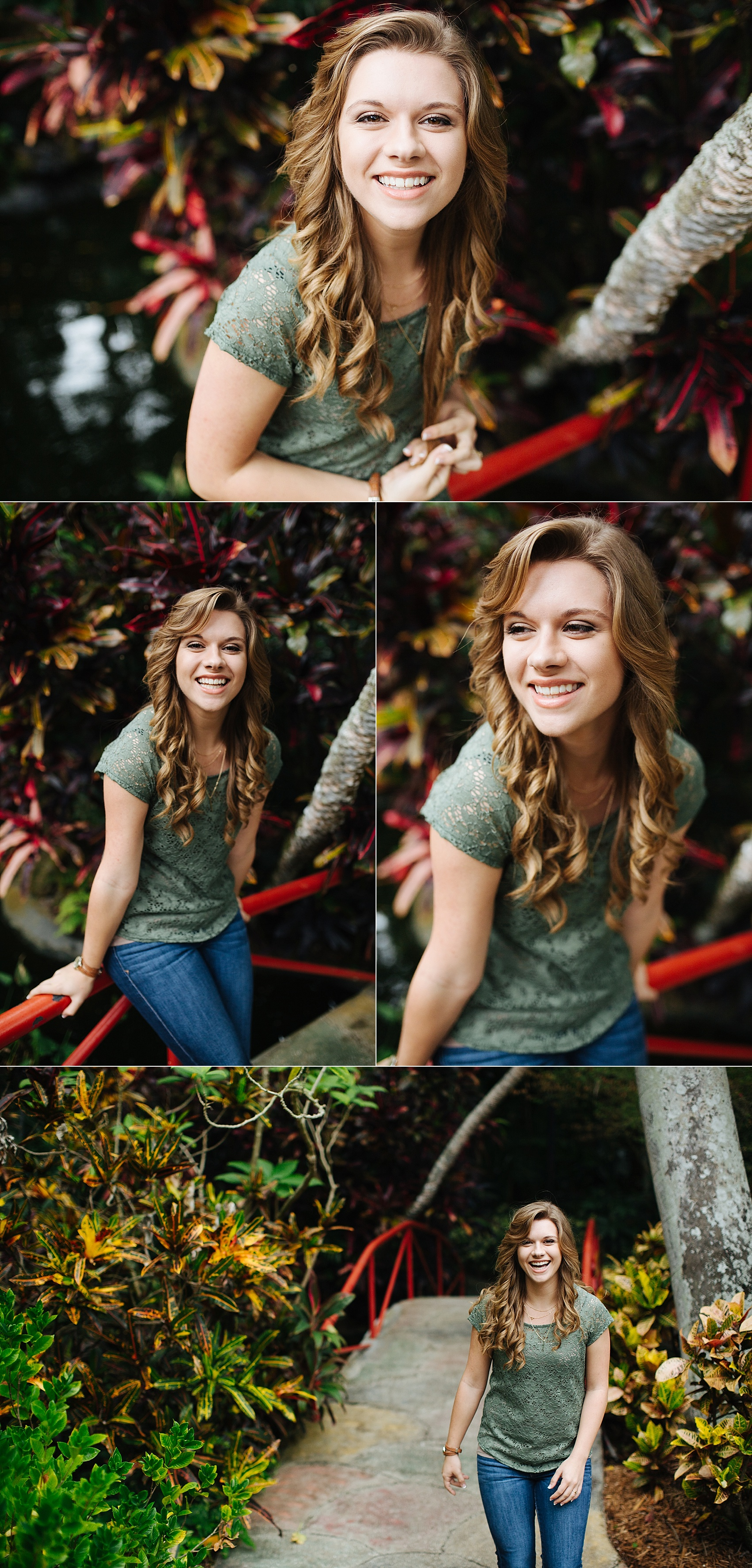 stpete senior portraits sunken gardens leah-2