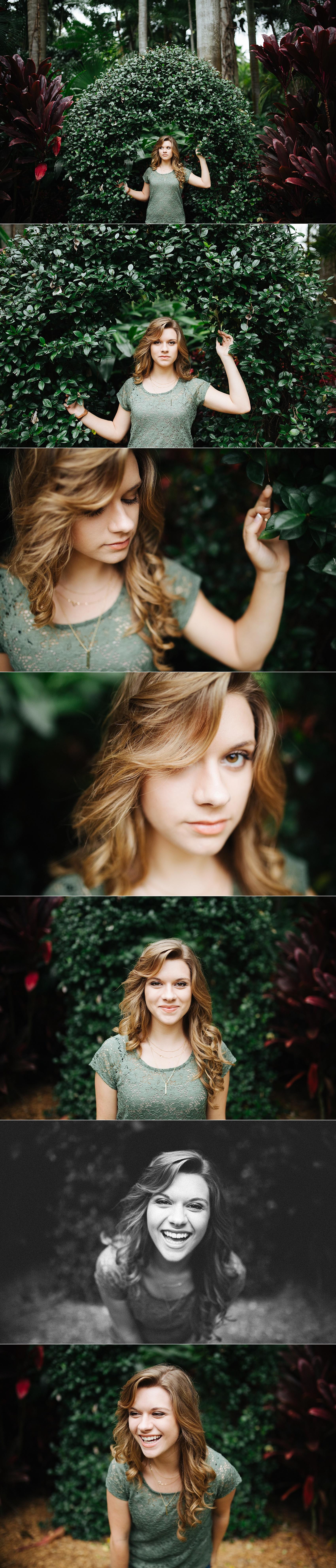 stpete senior portraits sunken gardens leah-4